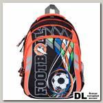 Школьный рюкзак Orange Bear V-57 Soccer оранжевый