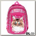 Школьный рюкзак Orange Bear V-52 Cat фуксия