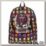 Рюкзак с наушниками Mojo Pax Сова черный