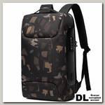 Рюкзак BANGE BG7216 черный камуфляж