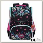 Рюкзак школьный с мешком Grizzly RAm-084-2 Чёрный