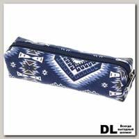 Пенал СкандиКристал сине-серый С-5510