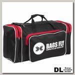 Дорожная сумка Pola П9008 Черный (красные вставки)