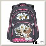 Рюкзак школьный Grizzly RG-965-2 Серый
