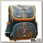 Ранец Mike&Mar Путешествие (коричневый/оранжевый)