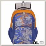 Рюкзак Grizzly Leaves Orange-Blue RD-754-1