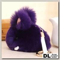 Брелок мини кролик (фиолетовый)