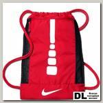 Баскетбольный рюкзак Men's Nike Hoops Elite Basketball Gym Sack Красный