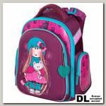 Школьный рюкзак-ранец Hummingbird TK39 Girl Kitten