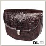 Кожаная женская сумка Carlo Gattini Amendola burgundy 8003-10
