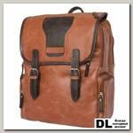 Кожаный рюкзак Carlo Gattini Santerno cognac/brown