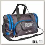 Спортивная сумка Polar П02с Черный (синие вставки)