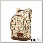 Детский рюкзак Asgard Р-5414 Жирафики беж