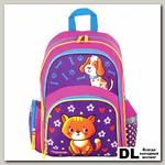 Школьный рюкзак ПИФАГОР+ Пес и кот
