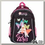 Школьный рюкзак Orange Bear V-53 Paris черный