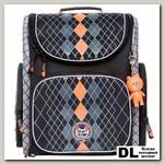 Ранец школьный Orange Bear SI-22 Classic Черный/оранжевый