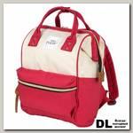 Рюкзак-сумка Polar 17198 бордовый/белый