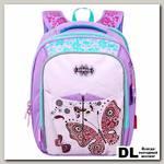 Школьный ранец Across Butterfly Lilac
