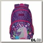 Рюкзак школьный Grizzly RG-966-1 Фиолетовый