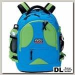 Рюкзак 4YOU Compact Зелено-Голубой