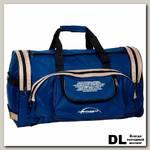 Спортивная сумка Polar П01 Синий (бежевые вставки)