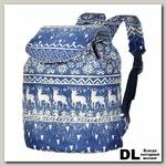 Рюкзак NOSIMOE 001D Олень-синий