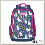 Рюкзак школьный Grizzly RG-063-1 Серый