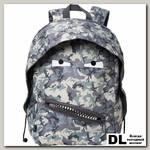 Рюкзак ZIPIT Grillz Backpacks серый камуфляж