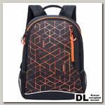 Рюкзак RU-805-2 Черный-оранжевый