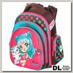 Школьный рюкзак-ранец Hummingbird TK51 Friends Happy