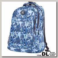 Рюкзак Polar Patterns 80032 синий
