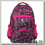 Школьный рюкзак BRAUBERG Узоры Цветы