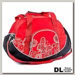Спортивная сумка Polar 5988 Красный (бабочки)
