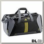 Спортивная сумка Adidas 3s ess tbm black/tecg Чёрная