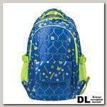 Школьный рюкзак BRAUBERG 'Сердечки' Синий