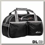 Спортивная сумка Polar П05/6 Черный (серый кант)