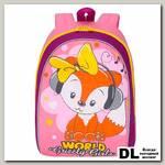 Рюкзак детский RS-896-2 Розовый-лиловый
