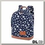 Мини рюкзак Asgard Р-5424 ДжинсЗвезды синий