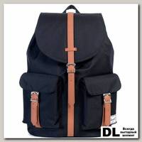 Рюкзак HERSCHEL DAWSON Black/Tan Synthetic Leather