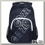 Рюкзак Grizzly RU-136-2 черный - белый