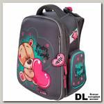 Школьный ортопедический рюкзак Hummingbird Bear with a heart TK65(Gr)