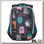 Рюкзак школьный Grizzly RG-969-2 Тёмно-серый
