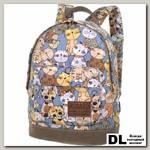 Мини рюкзак Asgard Коты синие Р-5424