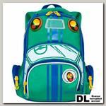 Рюкзак Grizzly RS-992-1 Зеленый/синий