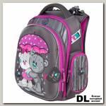 Школьный рюкзак-ранец Hummingbird TK66(Pur) Love rain