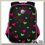 Рюкзак школьный Grizzly RG-065-3 Чёрный