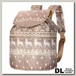 Рюкзак NOSIMOE 001D Олень-беж