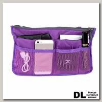 Органайзер для сумки Wanna be a traveler фиолетовый