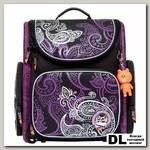 Ранец школьный Orange Bear SI-16 Classic Черный/фиолетовый