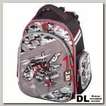 Школьный рюкзак Hummingbird Black Caiman TK36